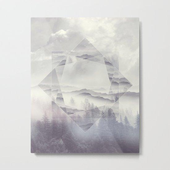 Geometric Vibes 01 Metal Print