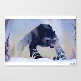 Fenrir the Wolf Canvas Print