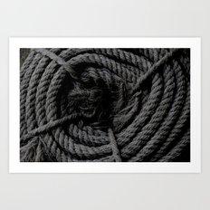 Cuerda Art Print
