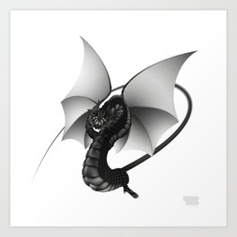 Dragon by Taylan Balaban Art Print
