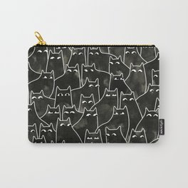 Suspicious Cats Carry-All Pouch