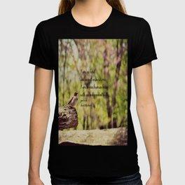 I Am No Bird Jane Eyre Charlotte Bronte Quote T-shirt