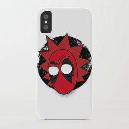 Rickpool the Merc With a Portal Gun iPhone Case