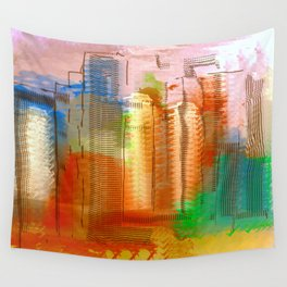 City with Attitude Wall Tapestry