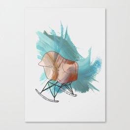 Chair Icon Canvas Print