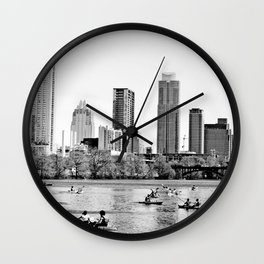 Epitome of Austin Wall Clock