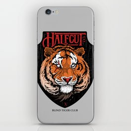 Blind Tiger Club  iPhone Skin