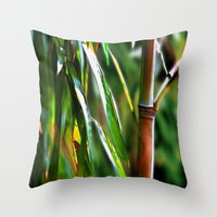 mother Throw Pillows featuring Mother by Robin Curtiss