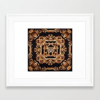 givenchy Framed Art Prints featuring Fancy Givenchy by Goldflakes