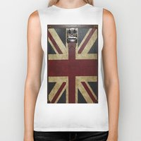 england Biker Tanks featuring England Reisen by Fine2art