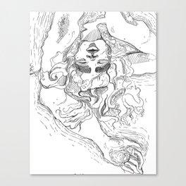 Drain Canvas Print
