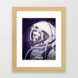 Skelenaut II Framed Art Print