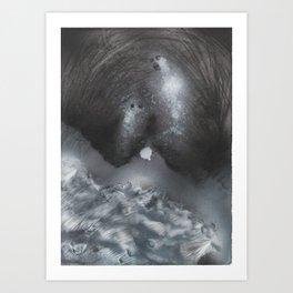 GHOST 5 Art Print