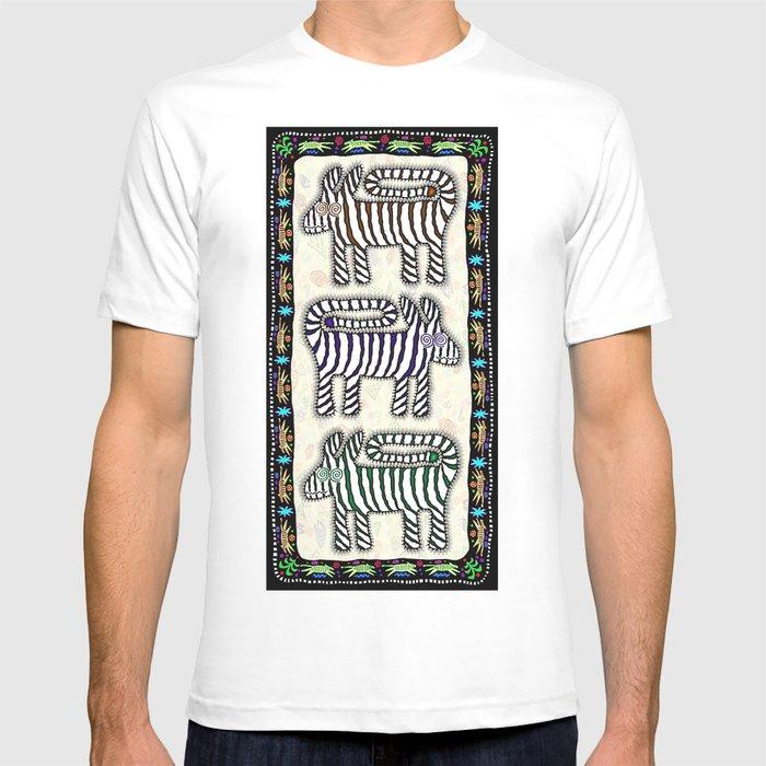 PSYCHO ZEBRAS T-shirt
