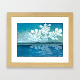 No Point Seattle Framed Art Print