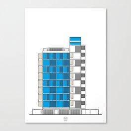 Facultad de Arquitectura y Urbanismo (FAU) Canvas Print