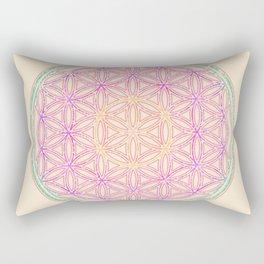 Sacred Geometry Pastels Rectangular Pillow