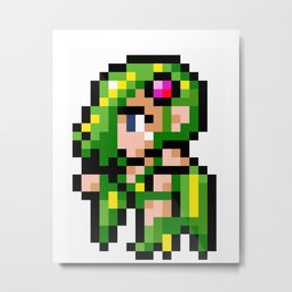 Final Fantasy II - Rydia Metal Print