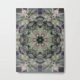 Crystal Wheel Metal Print