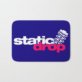 Static drop v2 HQvector Bath Mat