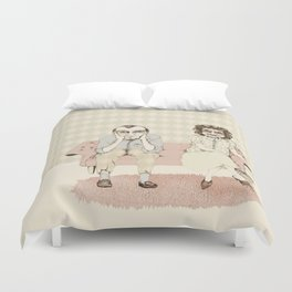 45 years married! Duvet Cover