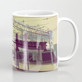 East London Trainlines 3 Coffee Mug