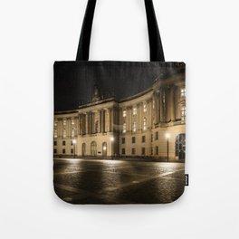 Berlin Humboldt University at Night Tote Bag