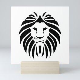 Lion Head Cute Mini Art Print