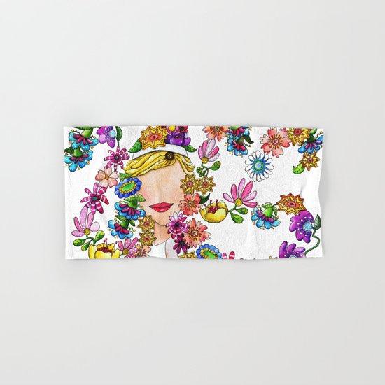 Flower Child Hand & Bath Towel