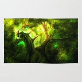 Forest Dragon Rug