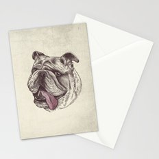 Bulldog King Stationery Cards