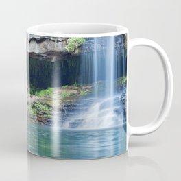 Waterfalls at Fern Pool in Karijini National Park, Western Australia Coffee Mug