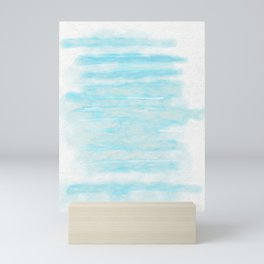 Blue Stripes Mini Art Print