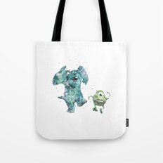 Mike and Sully Monsters Inc. Disneys Tote Bag