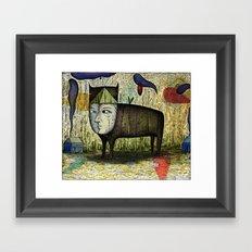 The Phantom Beast of Summer Framed Art Print