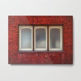 Will you knock on my windows? Metal Print