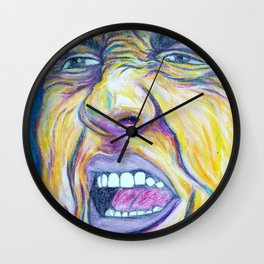 Hurricane Christie Wall Clock