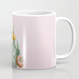 Donut Cactus In Bloom Coffee Mug