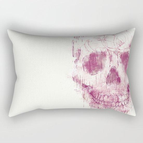 skeleton head Rectangular Pillow
