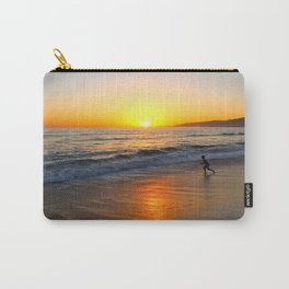 Sea Print Carry-All Pouch
