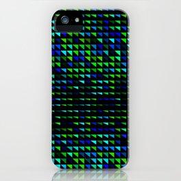 fete triangle pattern iPhone Case