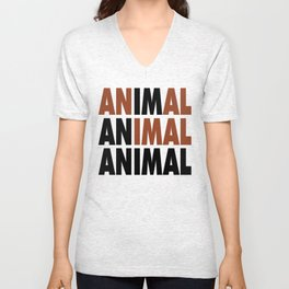 i'm an animal Unisex V-Neck