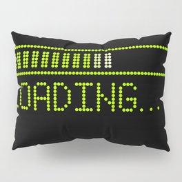 Green Loading Time Bar Pillow Sham