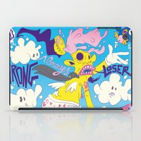 fear iPad Cases featuring Fear by Matteo Cuccato - Strudelbrain