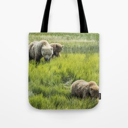 A Mother and Her Two Cubs, No. 3 Tote Bag