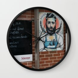 Austrian Barber Vienna Wall Clock