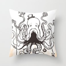 Octoluminary Throw Pillow