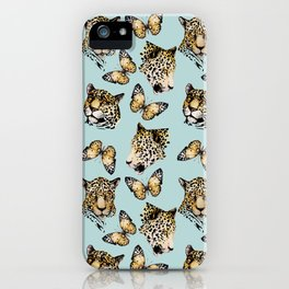 Natural Gold Pattern iPhone Case