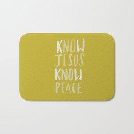 Know Jesus x Mustard Bath Mat