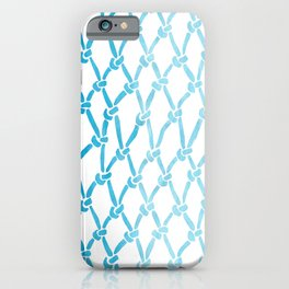 Net Water iPhone Case